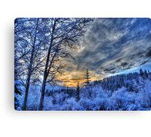 Cariboo Sunrise Canvas Print
