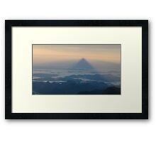 Adam's Peak - Sri Lanka Framed Print