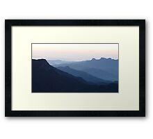 Sunrise over Sri Lanka  Framed Print