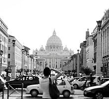 St Peters Basilica, Vatican City ITALY by Fingal Ross