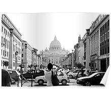 St Peters Basilica, Vatican City ITALY Poster