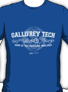 Gallifrey Tech - College Wear 02 T-Shirt