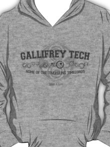 Gallifrey Tech - College Wear 03 T-Shirt
