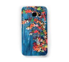 Puzzling wave Samsung Galaxy Case/Skin