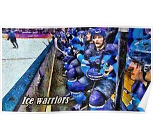 Ice warriors Poster