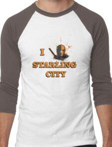 I ❤ Starling City Men's Baseball ¾ T-Shirt