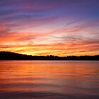 Sunset on Lake Lanier by Evelyn Laeschke