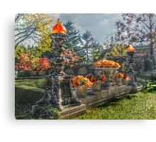 The Autumn Gardens At Kykuit, Sleepy Hollow, NY Canvas Print