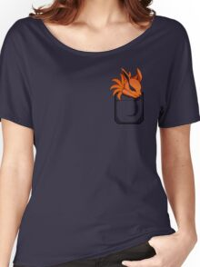 Kyuubi Pocket Women's Relaxed Fit T-Shirt