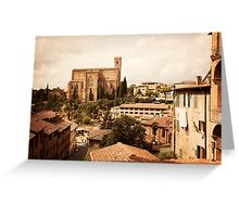 Siena, Tuscany Greeting Card