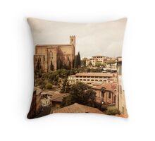 Siena, Tuscany Throw Pillow