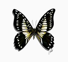Butterflies Collection: Black butterfly Unisex T-Shirt