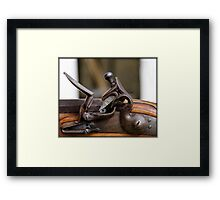 The Flintlock  Framed Print
