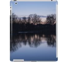 Lake Ontario Blue Hour Infused With Purple iPad Case/Skin