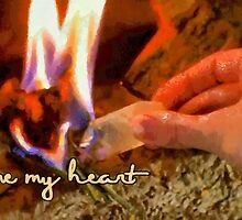 Flame my heart by Fernando Fidalgo
