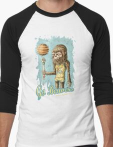 Go Beavers! (full colour) Men's Baseball ¾ T-Shirt