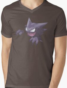 Haunter Geometric Mens V-Neck T-Shirt