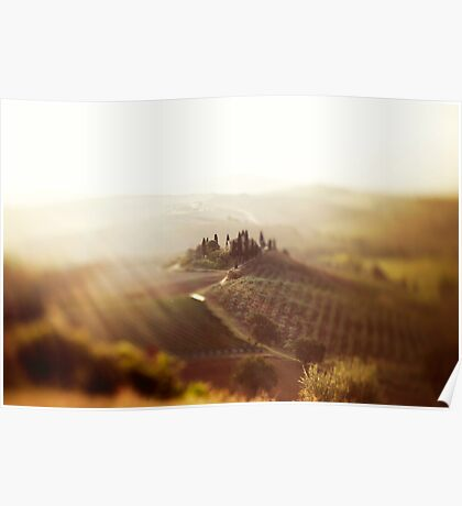 Dream of Tuscany  Poster