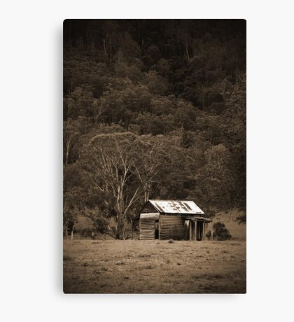 old butcher shop, Dalmorton Canvas Print