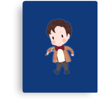 Eleventh Doctor Canvas Print
