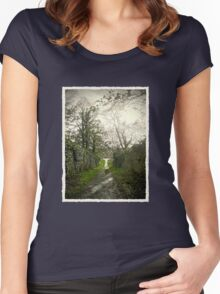 Jacob´s Island 001 Women's Fitted Scoop T-Shirt