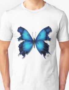 Butterflies Collection: blue butterfly Unisex T-Shirt