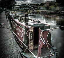 Northwich on the canal by outlawalien