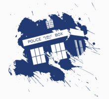 Splash tardis by qindesign