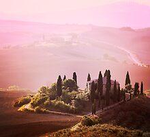 Foggy Tuscany by VaidaAbdul