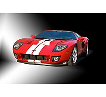 2011 Ford GT Studio Photographic Print