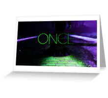 Wicked-Once Upon A Time Greeting Card