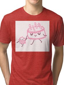 Baby Cakes Tri-blend T-Shirt
