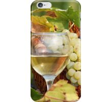 two glasses of white wine iPhone Case/Skin
