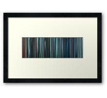 Moviebarcode: Star Trek Into Darkness (2013) Framed Print