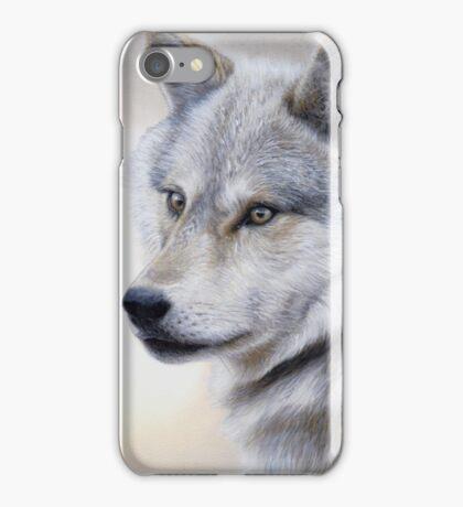 Vigilance - Wolf Portrait iPhone Case/Skin
