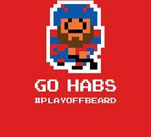 GO HABS! 8-bit Playoff Beard! Unisex T-Shirt