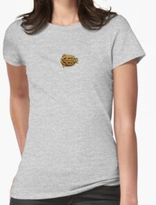 Albert the Turtle Womens Fitted T-Shirt