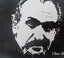 The First Master/Doctor Who (Roger Delgado)  by Clare Shailes