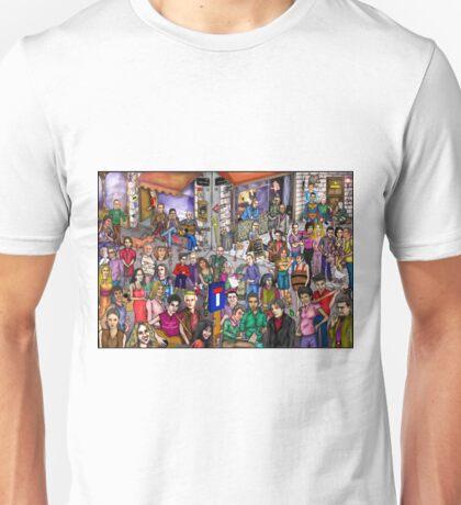 Music street Unisex T-Shirt