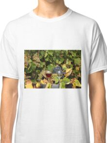vineyard with red and white wine  Classic T-Shirt