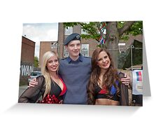 Help For Heroes West wickham Kent  (The Swan Pub) Greeting Card