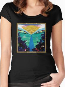 And So I Watch You From Afar - All Hail Bright Futures Women's Fitted Scoop T-Shirt