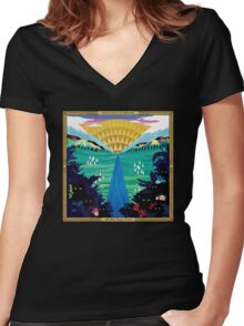 And So I Watch You From Afar - All Hail Bright Futures Women's Fitted V-Neck T-Shirt