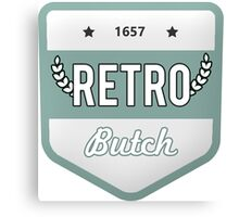RETRO BUTCH Canvas Print