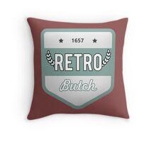 RETRO BUTCH Throw Pillow