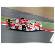 Rebellion Racing No 13 Poster