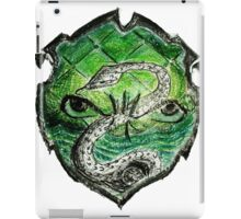 12th Doctor - Slytherin iPad Case/Skin