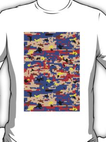 8-bit Digital Camo (Mario) T-Shirt