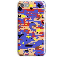 8-bit Digital Camo (Mario) iPhone Case/Skin