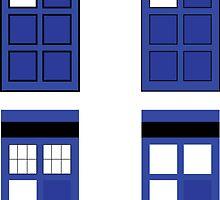 Police box geometry by geekwear